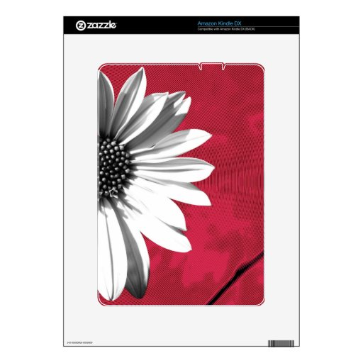 flower skin for the kindle