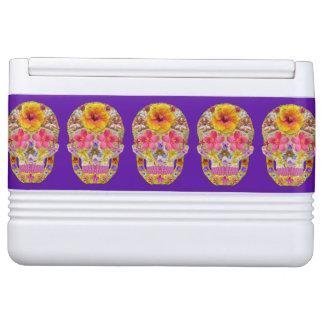 Flower Skull 4 - Tropical Cooler