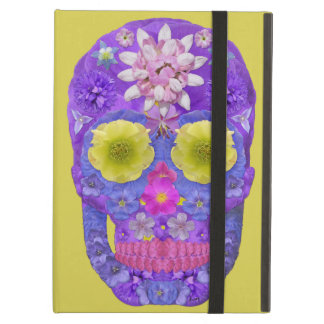 Flower Skull 5 iPad Air Cover