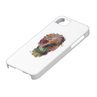 Flower Skull Candy Phone Case iPhone 5 Cases
