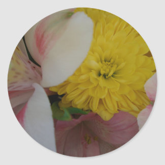 Flower Smiles CricketDiane Art & Photography Classic Round Sticker
