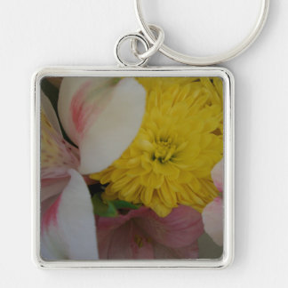 Flower Smiles CricketDiane Art & Photography Keychain