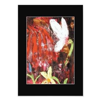 Flower, Snowdrop. Card