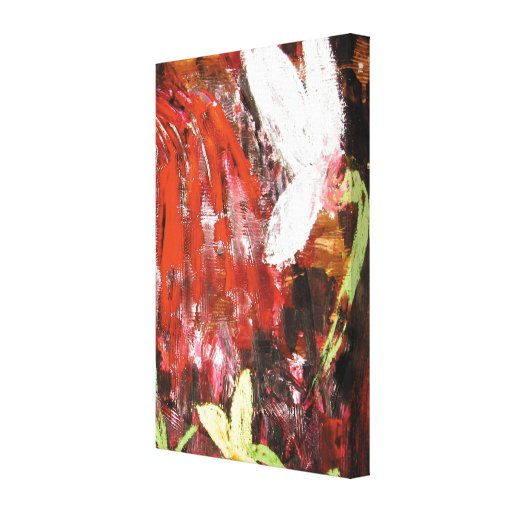 Flower, Snowdrop. Stretched Canvas Prints
