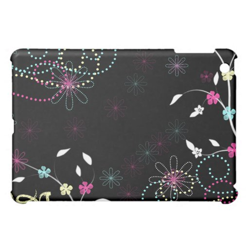 Flower Sparkle iPad Mini Cover