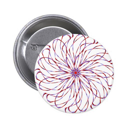 Flower spiral light purple lacy design graphic buttons
