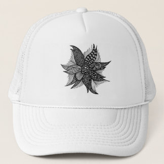 Flower Spiral Trucker Hat