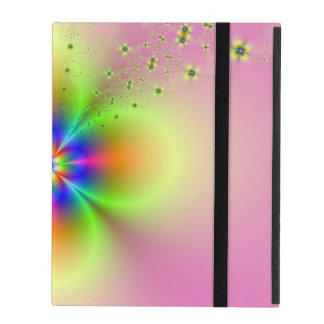 Flower Spray on Pink iPad Covers