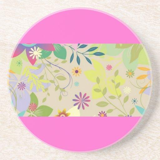 Flower Springtime Coaster