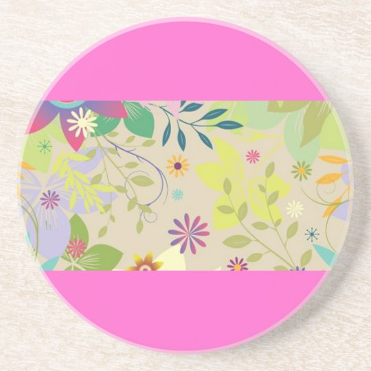Flower Springtime Coaster