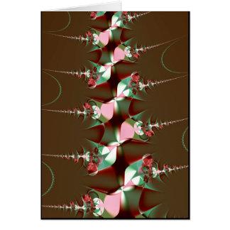 flower stalks card