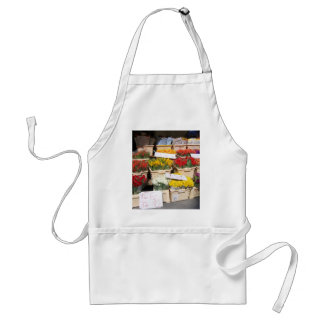 flower stall by shanta adult apron
