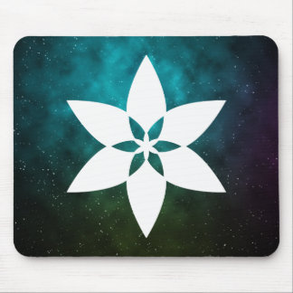 Flower Stamens Minimal Mouse Pad