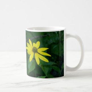Flower standing alone classic white coffee mug