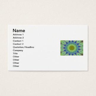 Flower/Star Mandala Business Card