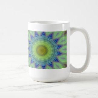 Flower/Star Mandala Coffee Mug