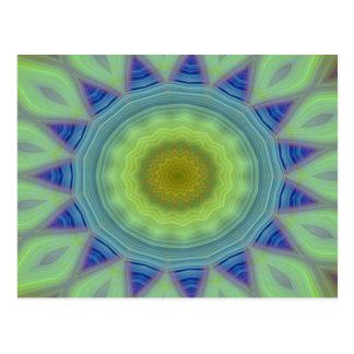Flower/Star Mandala Postcard