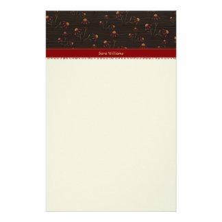 Flower Stationery Paper