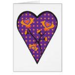 Flower Stem Heart Card
