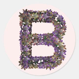 Flower sticker B