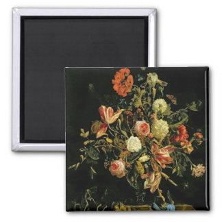 Flower Still Life, 1706 Magnet