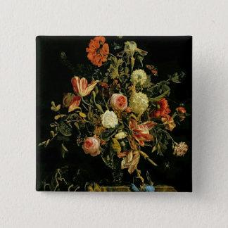 Flower Still Life, 1706 Pinback Button