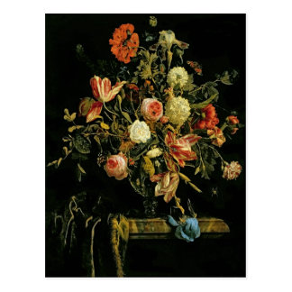 Flower Still Life, 1706 Postcard