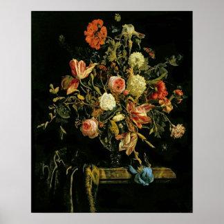 Flower Still Life, 1706 Poster