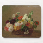 Flower Still Life Mouse Pad