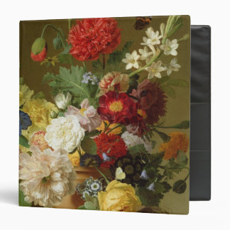 Flower Still Life on a marble ledge, 1800-01 Binder
