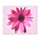 flower stretched canvas print