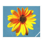 flower stretched canvas prints