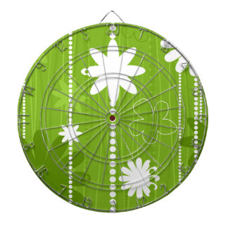 Flower structure dartboard