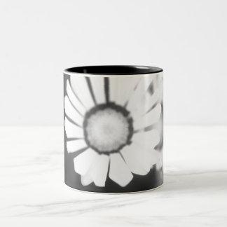 Flower Study 4 Two-Tone Coffee Mug