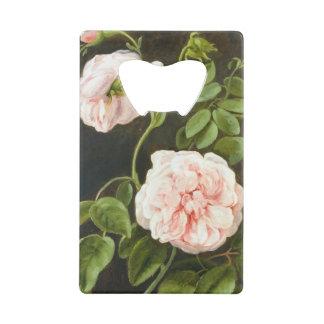Flower Study Credit Card Bottle Opener