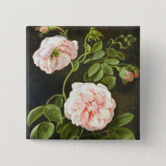 Flower Study Pinback Button