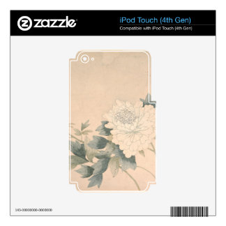 Flower Study - Yun Bing (Chinese) iPod Touch 4G Skin