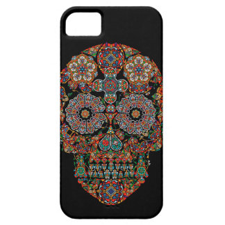 Flower Sugar Skull Apple iPhone 5 Case