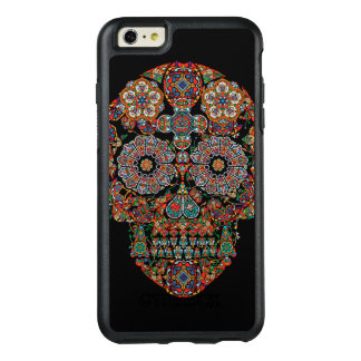 Flower Sugar Skull OtterBox iPhone 6 Plus Case