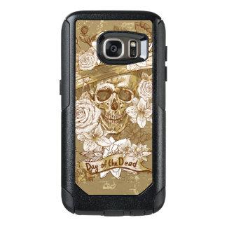 Flower Sugar Skull OtterBox Samsung Galaxy S7 Case