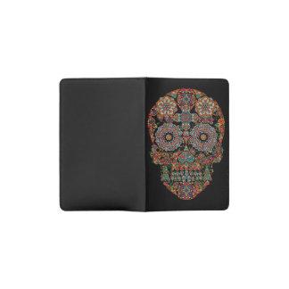 Flower Sugar Skull Pocket Moleskine Notebook