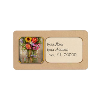 Flower - Summers blessing Custom Address Labels