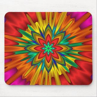 Flower Sunburst Mousepad
