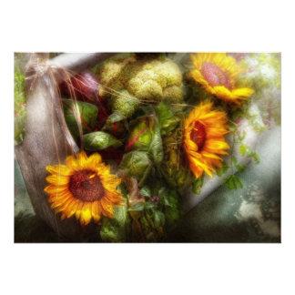 Flower - Sunflower - Gardeners toolbox Custom Invites