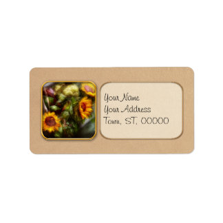 Flower - Sunflower - Gardeners toolbox Personalized Address Labels
