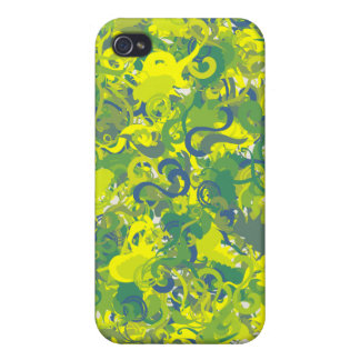 Flower Swirl Phone Case Pattern iPhone 4/4S Cover