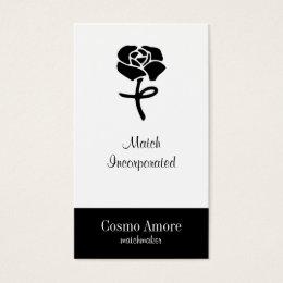 Flower Symbol Business Card