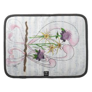 Flower Symphony Collage Smartphone Folio Planner