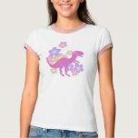 Flower T-Rex Dinosaur T-Shirt