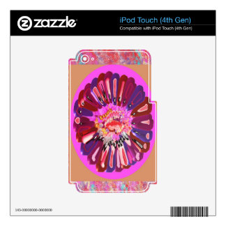 Flower Talk - Open your heart iPod Touch 4G Skins
